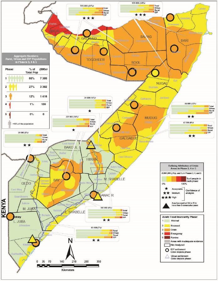 Somalia: IPC Acute Food Insecurity Situation January 2019 and